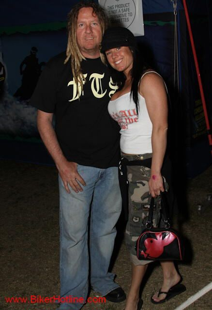 Michael Ballard Full Throttle Saloon | Michael Ballard and Angie from the Full Throttle Saloon