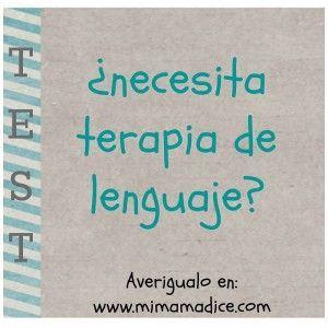 test: ¿necesita terapia de lenguaje