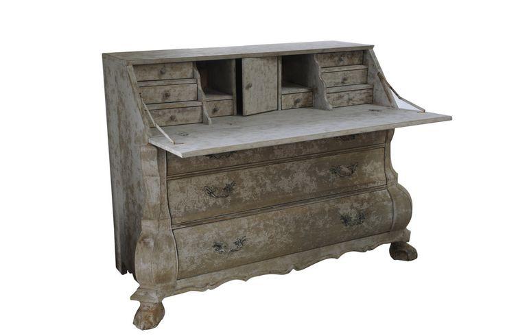elegantní ručně vyráběný sekretář / stylový toskánský nábytek
