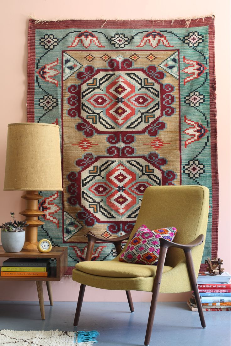 The Krakow Collection from Project Bly Polish Kilim