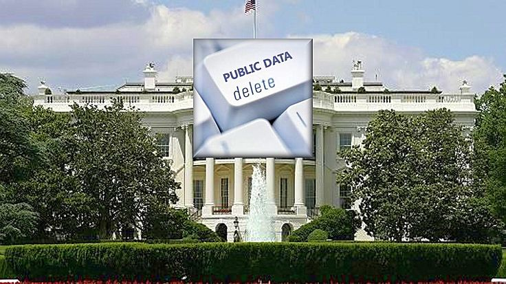 White House website sparks concern among transparency advocates. During the first week of February, 31 databases — reporting legally mandated White House payroll reports to Congress, budget documents, White House visitor records and public response documents —WERE REMOVED ✄ from the White House Open Data portal, the platform created to disclose information about 1600 Pennsylvania Avenue and its operations.