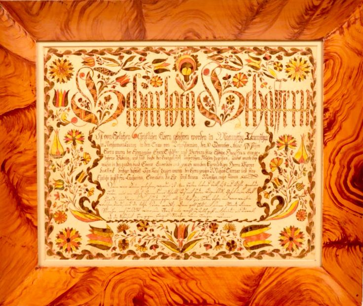 141 best Fraktur images on Pinterest Pennsylvania dutch, Folk art - best of good standing certificate pa
