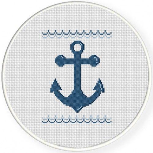 Ahoy Cross Stitch Illustration