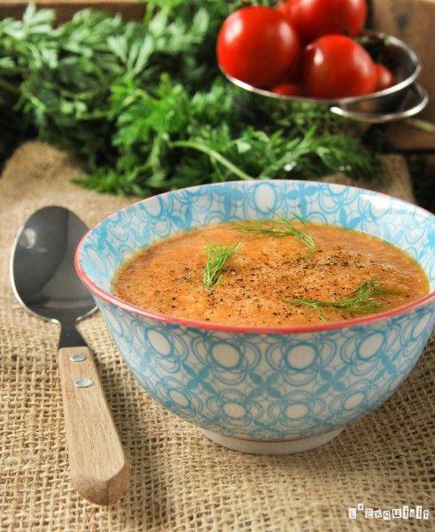 Crema de hinojo y tomates asados | L'Exquisit