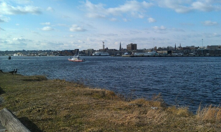 Long Island Sound from New London