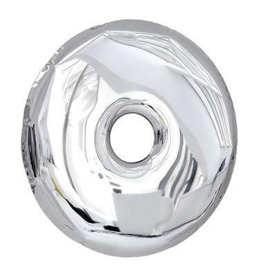 Scopri Specchio Rondo convesso Ø 75 cm, Ø 75 cm Acciaio