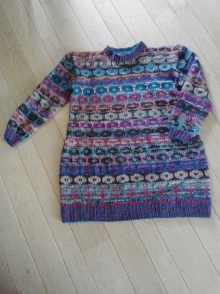 kaffe fassettt's persian poppy, pattern dress is my own