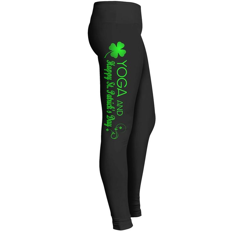 YOGA ST.PATRICKS DAY LEGGINGS