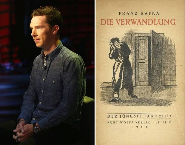 Benedict Cumberbatch to narrate Franz Kafka's The Metamorphosis - Books - Arts and Entertainment - The Independent