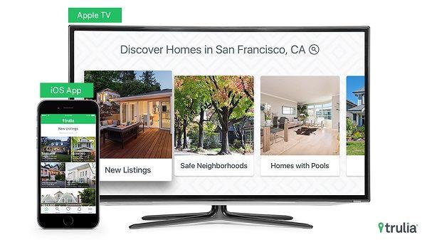 Trulia app released for Apple's tvOS (Apple TV). #iOS #iPhone #iPad #Apple @AppleEden  #AppleEden