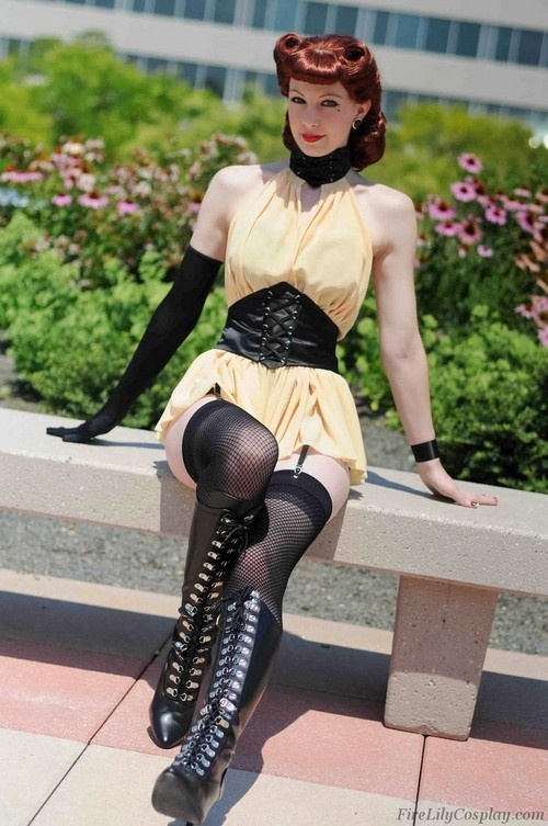 Watchmen Cosplay  i love classic Silk Spectre