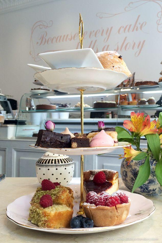 Afternoon Tea at Fait Maison, London