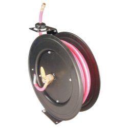 "3/8"""" x 50' Auto Rewind Non-Conductive Hose Reel tool & industrial. NEW. Astro Pneumatic. AST3688."