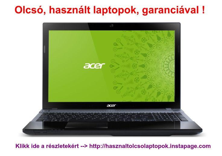 Bedöglött gyermeke laptopja és hamarosan kezdődik a tanév ?  Vásároljon legféltettebb kincsének #garanciális, #használt laptopot elérhető áron ! Kattintson ide--->http://hasznaltolcsolaptopok.instapage.com