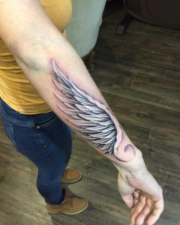 Ali Significato Idee E Foto Con Immagini Tatuaggio Ali