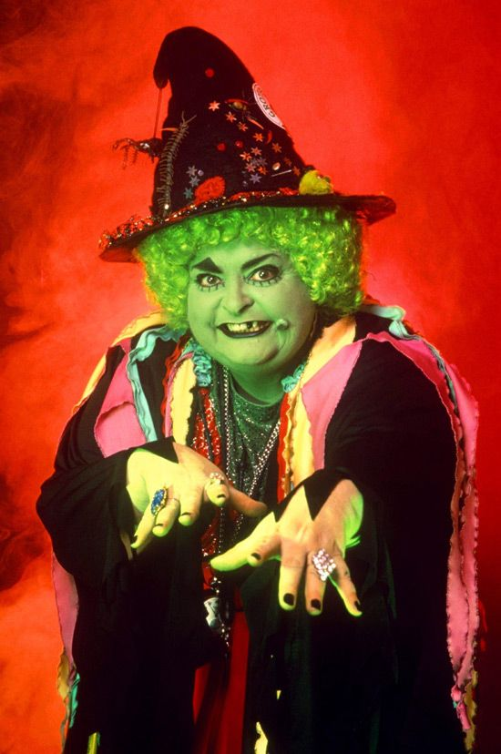 Grotbags. I bet this actress got belted by kids in the supermarket.