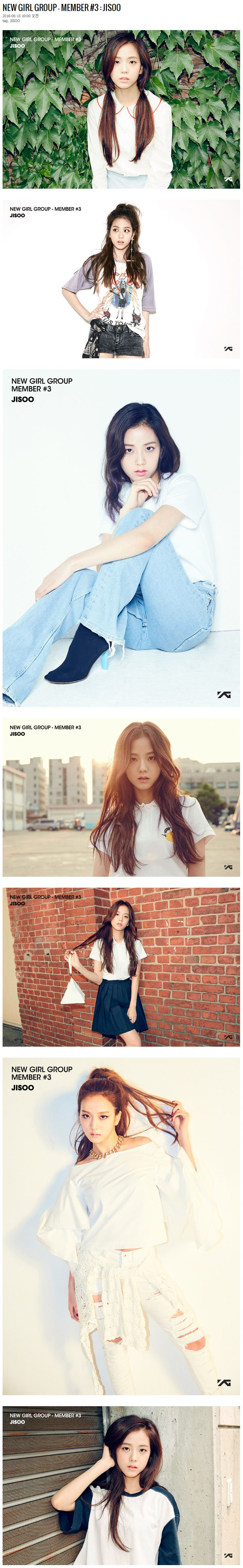 YG LIFE | NEW GIRL GROUP – MEMBER #3 : JISOO…