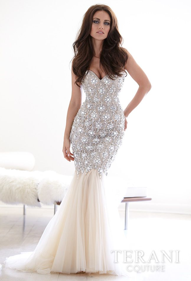 Latest And Fabulous Party Bridal Wear Gowns By Terani Couture From