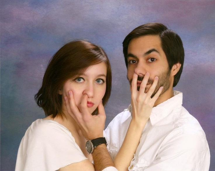 Lol!! Touch my face!-er pick my nose! Eeeww!! : Family Photos, Photo Fails