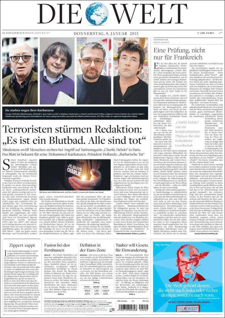 Allemagne - Die Welt