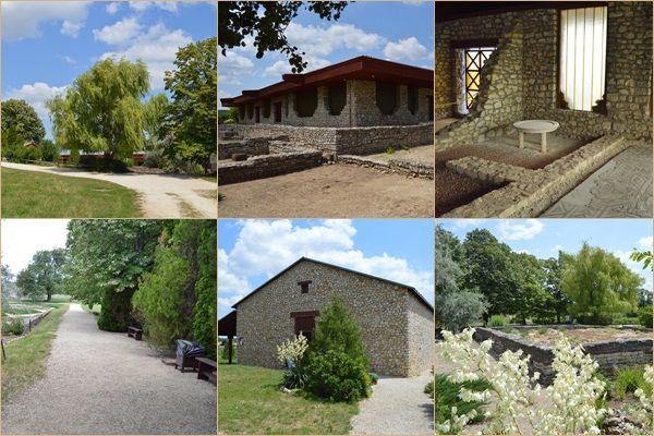 Villa Romana Baláca: római kori villagazdaság, romkert a Balaton-felvidéken