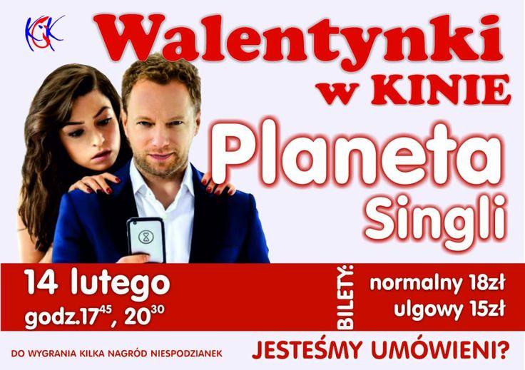 """Walentynki w kinie: """"Planeta singli"""", 14.02.2016 r."""