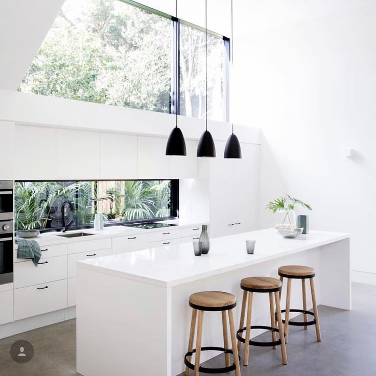 RE-POST - @designstuff_group posted this glorious Kitchen by @architectprineas and we were so happy to see our Daisy Stools sitting pretty in this unbelievable space! Wonderful Work #kitchen #design #architecturelovers #kitchengoals #barstool #bench #seat #daisy #stool #thursday #love #contemporary #sleek #home #lovemyblackmango