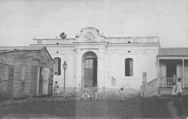 Hospital Lucia Vazquez en Cayey, Puerto Rico, año 1912.