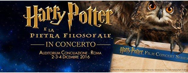 Harry Potter e la Pietra Filosofale:  il Cine-Concerto: questo fine settimana la prima nazionale