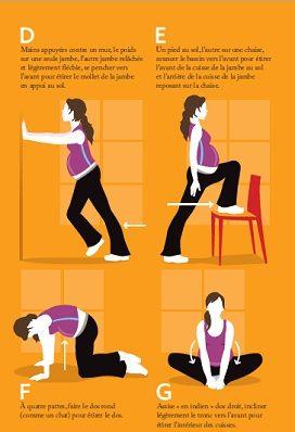 La grossesse et le sport! - Idée reçue 9 | Home Gym - sport et santé