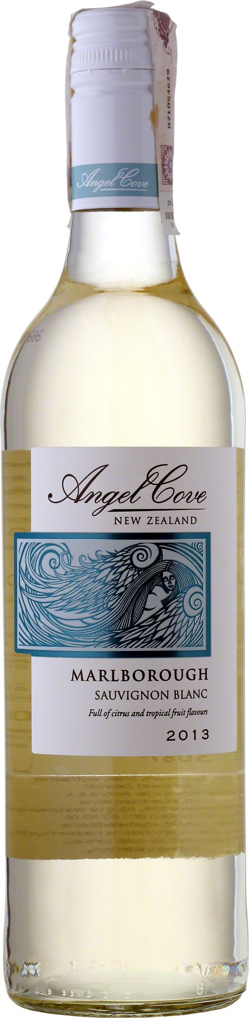 Angel Cove Marlborough Sauvignon Blanc Wino bladożółte z zielonkawymi refleksami. W nosie nuty czarnej porzeczki, agrestu i owoców tropikalnych. Delikatne i zrównoważone w smaku. Bardzo przyjemne i uniwersalne nowozelandzkie sauvignon blanc. #AngelCove #Marlborough #SauvignonBlanc #NowaZelandia #Winezja #Wino