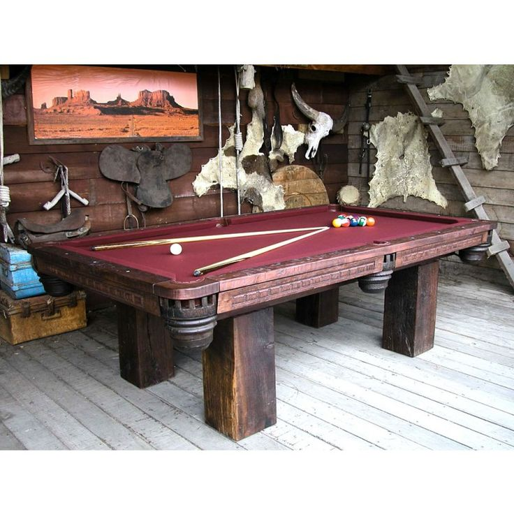 43 Best Images About Rustic Game Room... Rack 'Em Up!! On