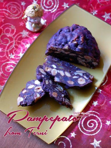 #Pampepato from Terni - English recipe