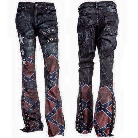 Confederate flag pants