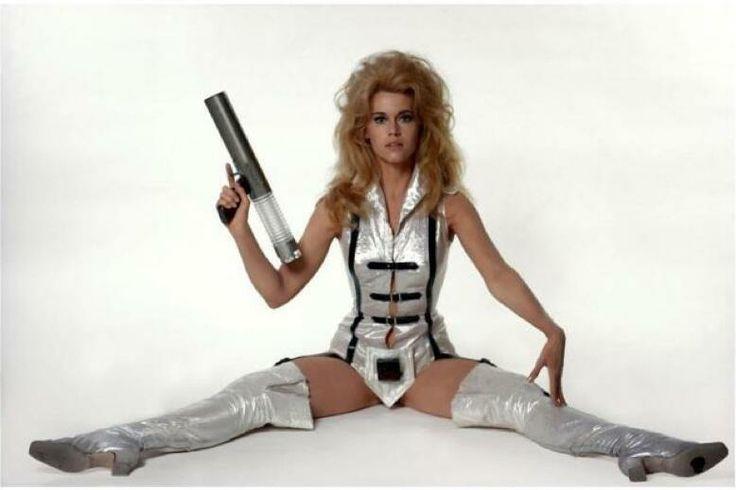 Jane Fonda, Barbarella--7 movies shot in the #1960s we love even more today