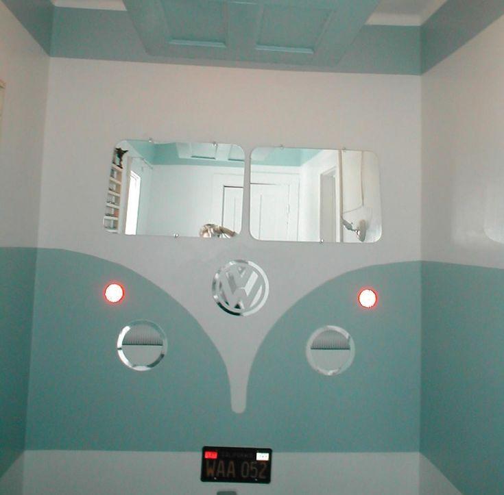 VW camper van styled room