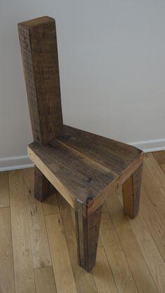 Preise beinhalten nicht die Versandkosten.  Bitte kontaktieren Sie uns mit Ihren Standort, und wir werden Ihnen mit einem Versand-Zitat.  Dieses einzigartige Wohn / Stuhl wird aus dem jahrhundertealten 100 % zurückgefordert Holz erstellt. Innovative Kombination von rustikalen Struktur, einfache moderne Linien, Hauch von Metall macht diesen Stuhl wirklich originell, schafft Verbindung zwischen Jahrhunderte alt und modern zugleich. Die einzigartige Eigenschaft des aufgearbeiteten Holzes wird…