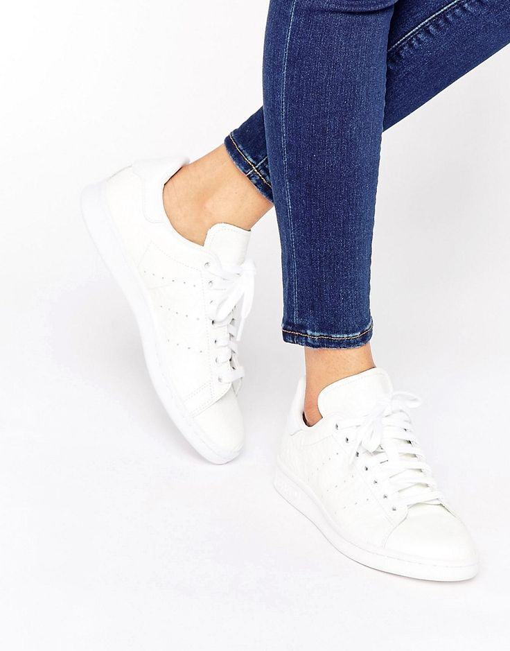 adidas Originals All White Stan Smith Trainers