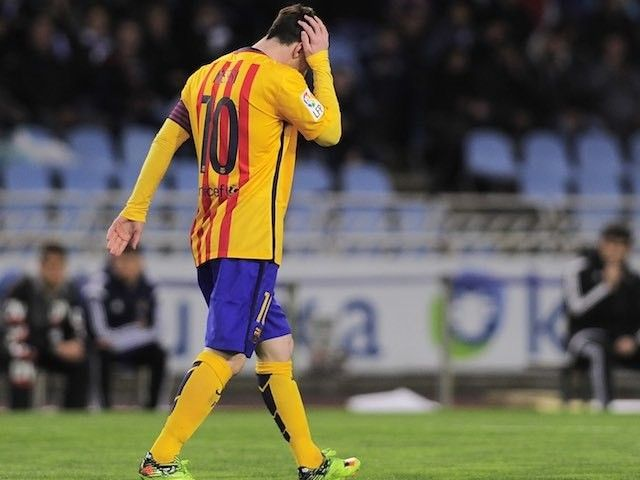Barcelona star Lionel Messi to 'lighten training load' due to hamstring injury #Injury_News #Barcelona #Football