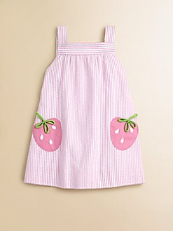 Florence Eiseman - Toddler's & Little Girl's Seersucker Strawberry Dress