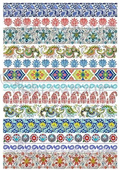 DGR 301 #decoupage  #hobby #flowers #cartadiriso #carta #ricepaper #craft #calambour #handmade #decoration  #cachemire #paisley #gipsy