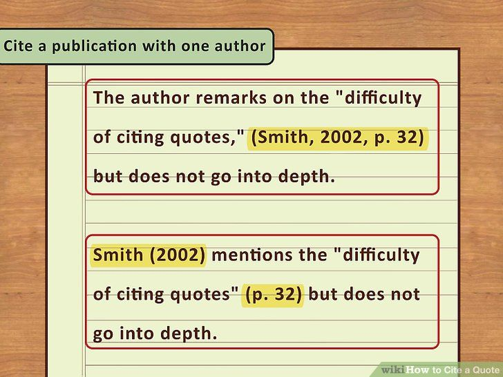 4 Easy Way To Cite A Quote With Picture Wikihow Being There For Someone Play Quotes Do You Need Paraphrase Wikipedia