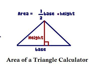 Area of a Triangle Calculator