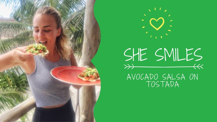 feeling fresh, feeling fine on this sunday morning? what about this avocado salsa? it makes you wanna dance and smile to the world! that good, I promise :) Also, you get to see my face on a video recipe again, how lucky is that? :D :D - VIDEO RECIPE: AVOCADO SALSA on TOSTADA