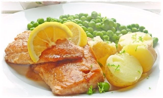 Truites Meunières - lovely simple way to cook fish.