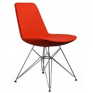 Red Paris Dining Chair