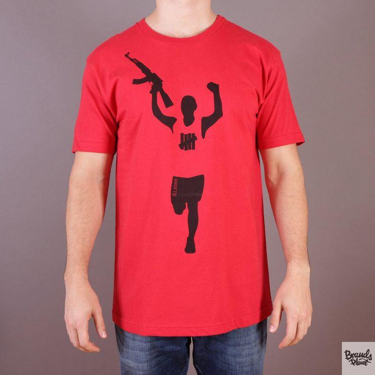 Czerwona koszulka Undefeated Victory Gun T-shirt Red  / www.brandsplanet.pl / #undefeated #UNDFTD
