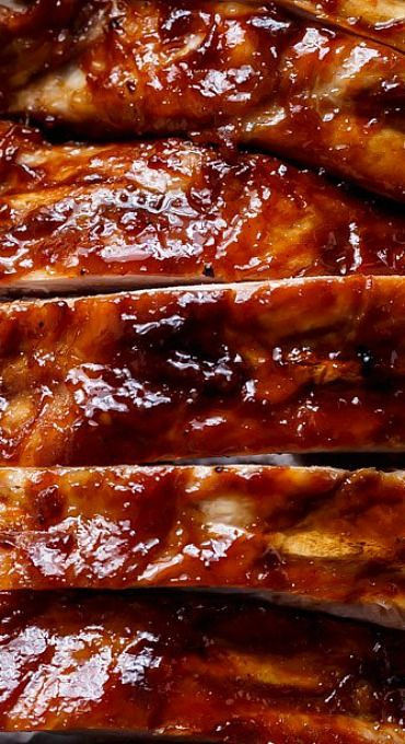 Slow Cooker Barbecue Spare Ribs
