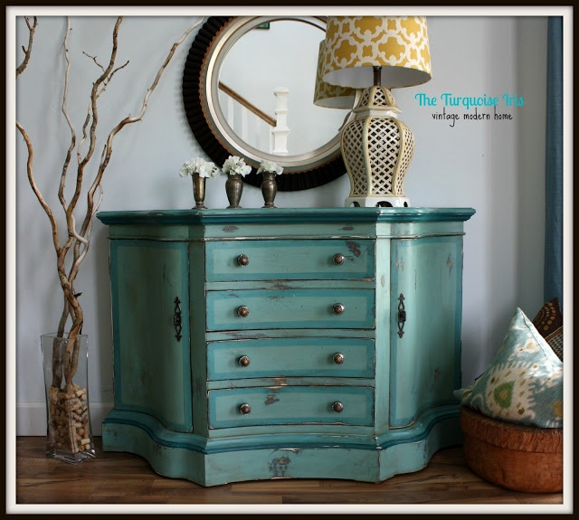 teal color furniture. The Turquoise Iris: Teal, Blue \u0026 Green Painted Entry Chest Teal Color Furniture T