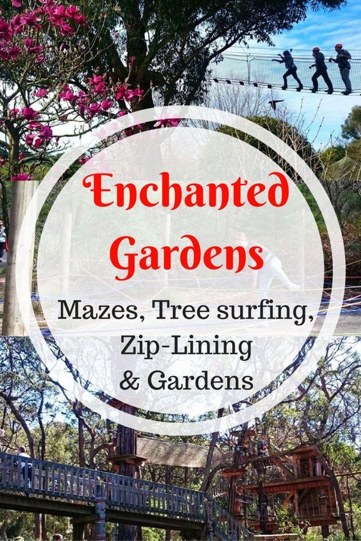 Enchanted Gardens, Maze & Tree Surfing